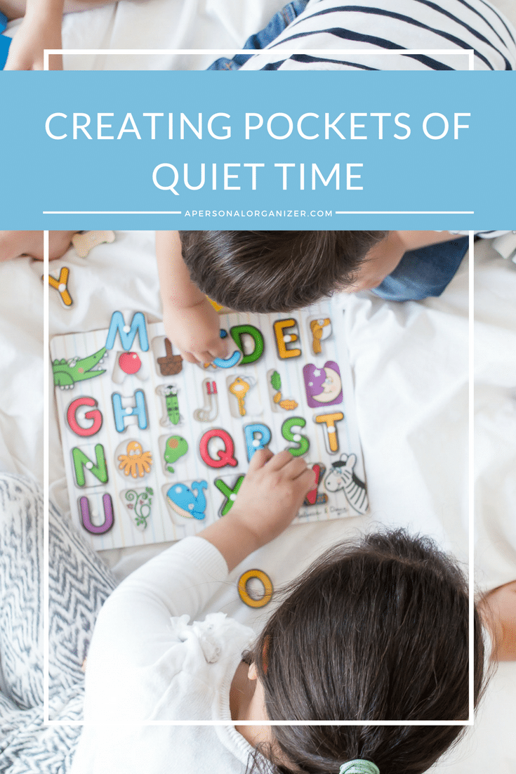 Creating Pockets of Quiet Time