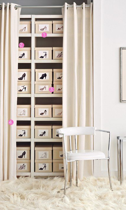 Too many shoes? No problem. A storage solution to all your shoes.