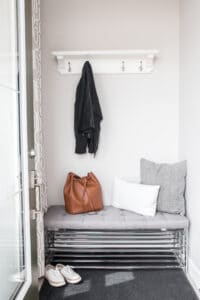 How-to-organize-narrow-entryway - A Personal Organizer