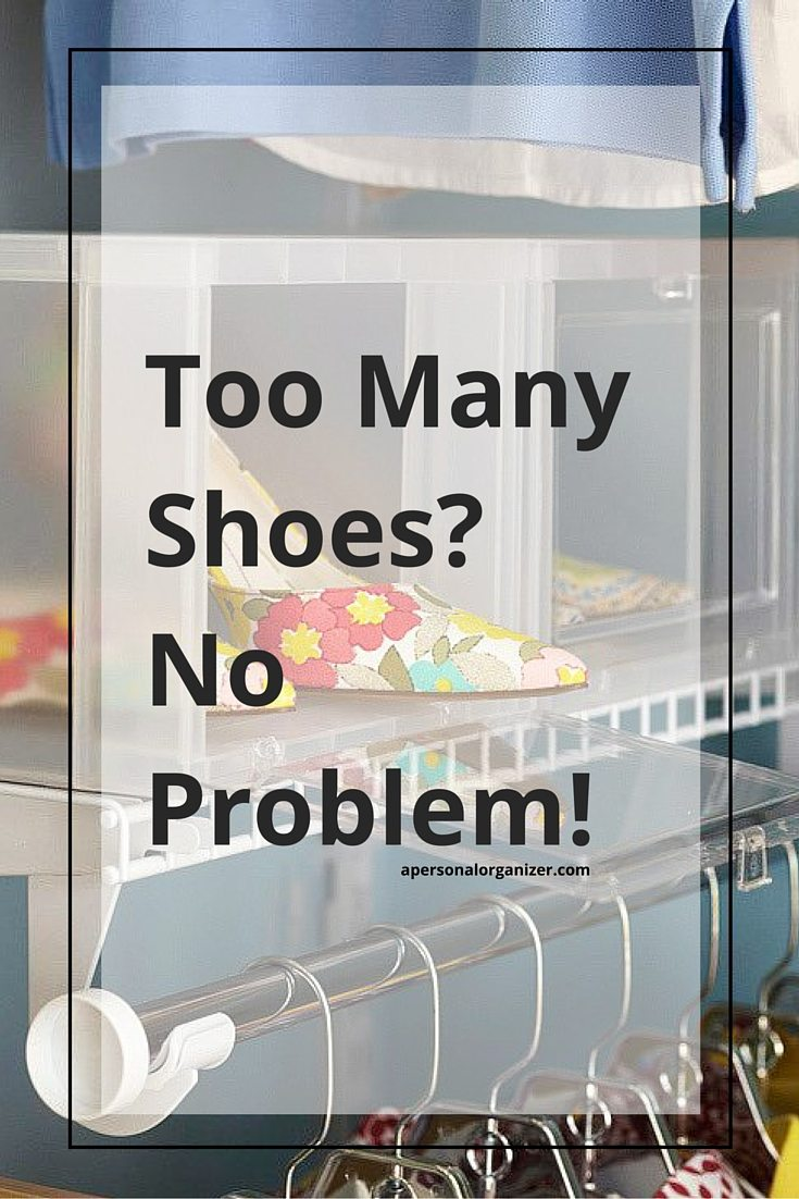If you love shoes you'll never think you have too many of them, but organizing them can become tricky. Come with me for great shoe organizing solutions!