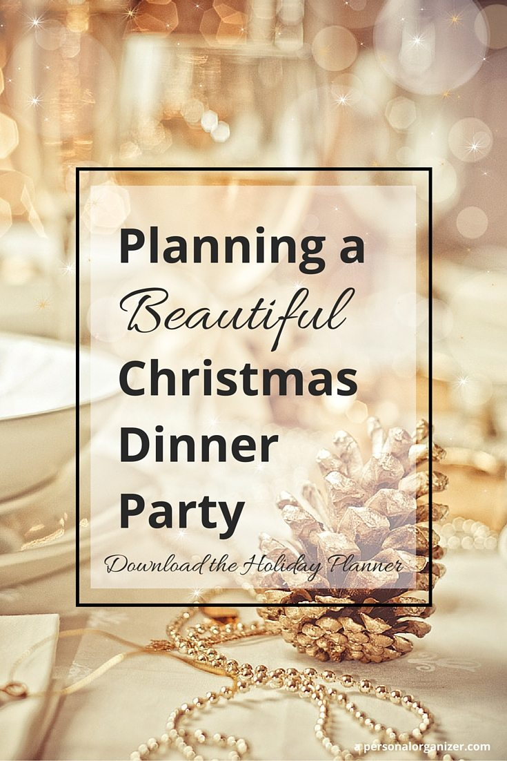 Planning A Christmas Dinner Party Helena Alkhas