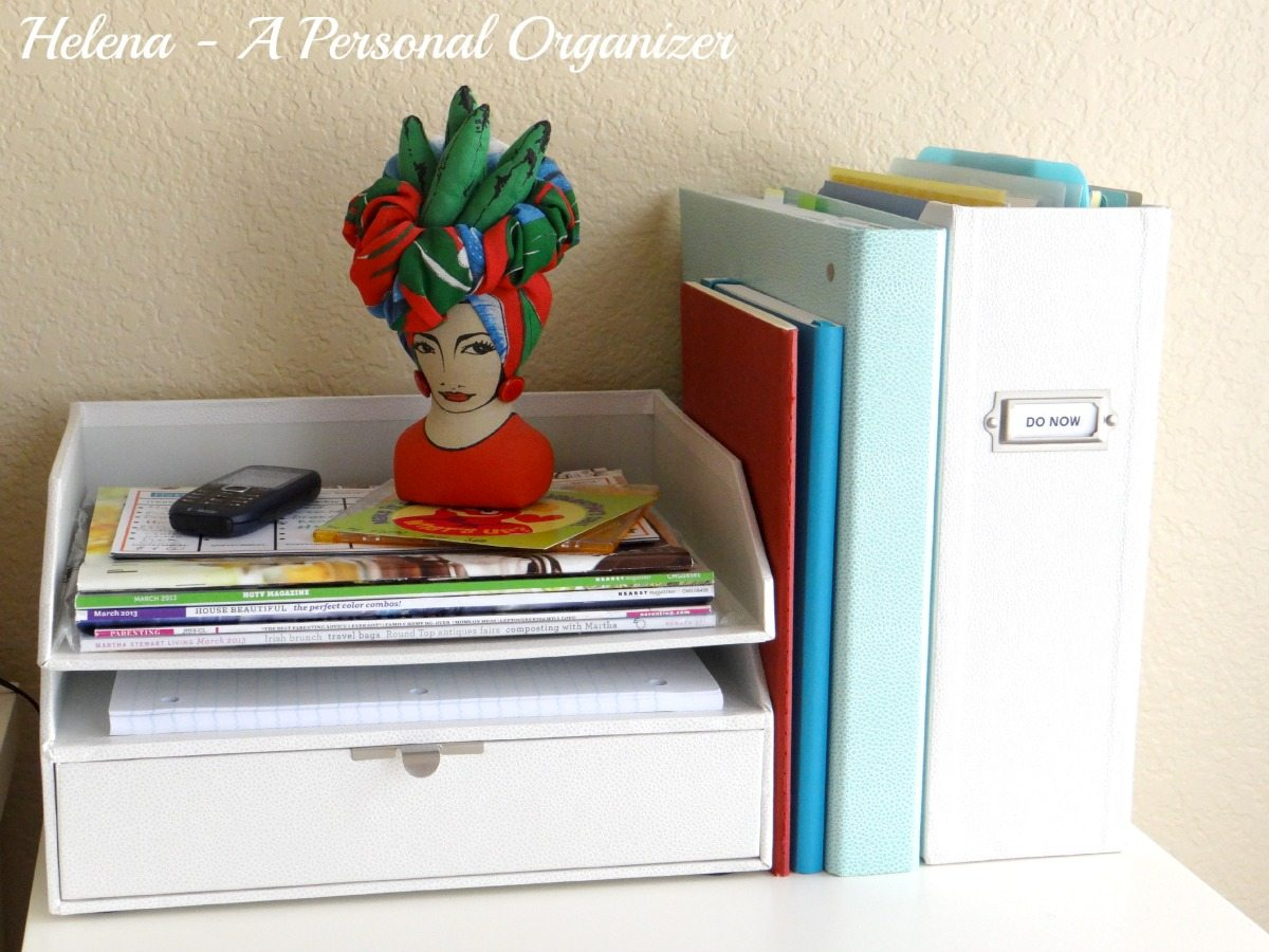 home office organization ideas do now station a personal organizer helena alkhas