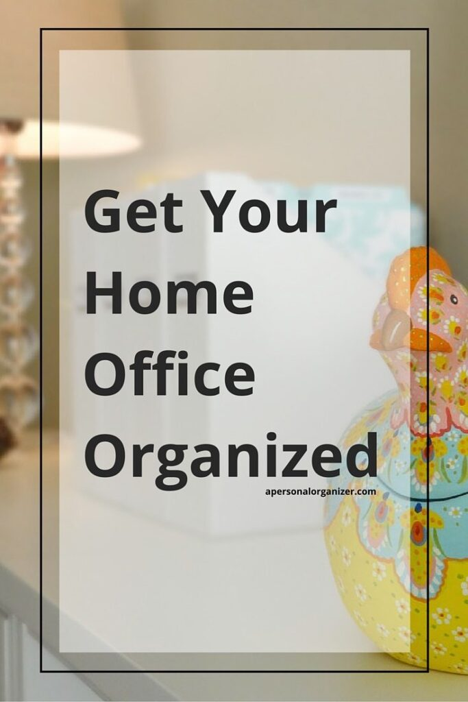 Featured iHeart Organizing home office organization