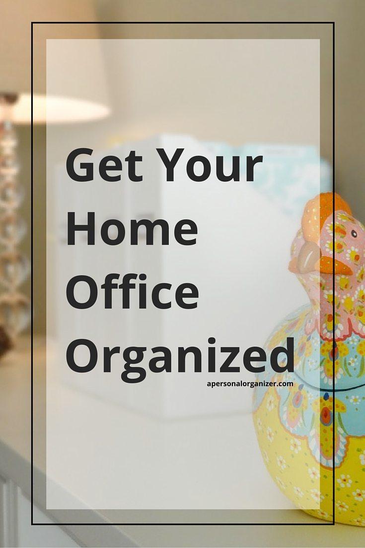 home office organization ideas | a personal organizer san diego