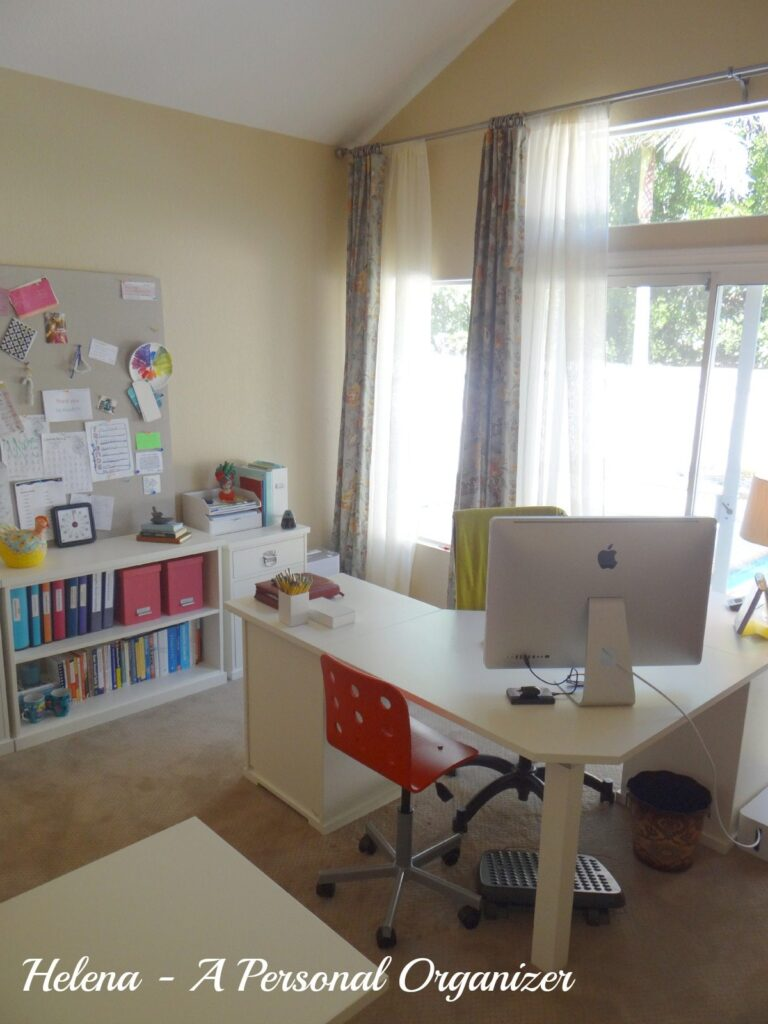Home office organization ideas