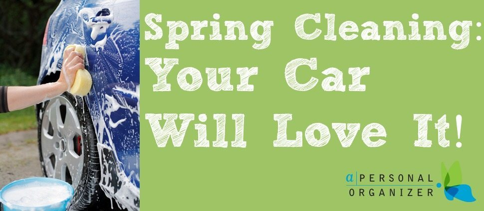 Spring Cleaning car cleaning Helena Alkhas A Personal Organizer