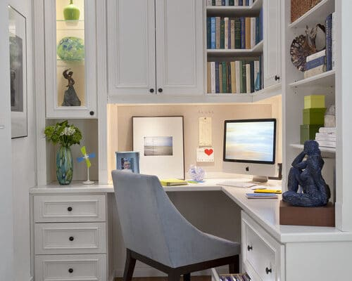 Transitional home office - A Personal Organizer