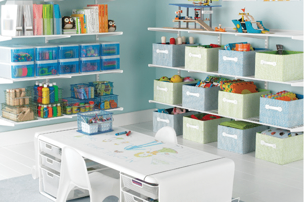 Teaching our kids to keep their spaces clutter-free.