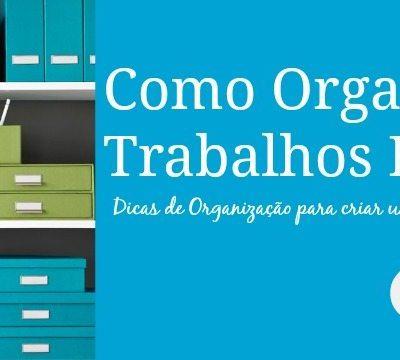 Organizando Trabalhos Escolares