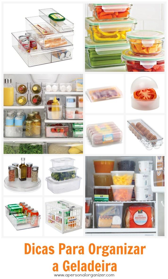 Dicas para organizar a geladeira.