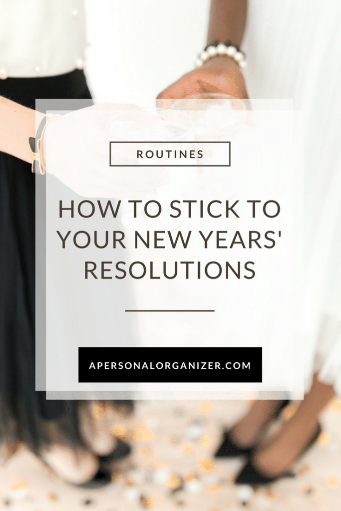 Can't stick to your New Year's resolutions? Check these 5 tips on how I do it.