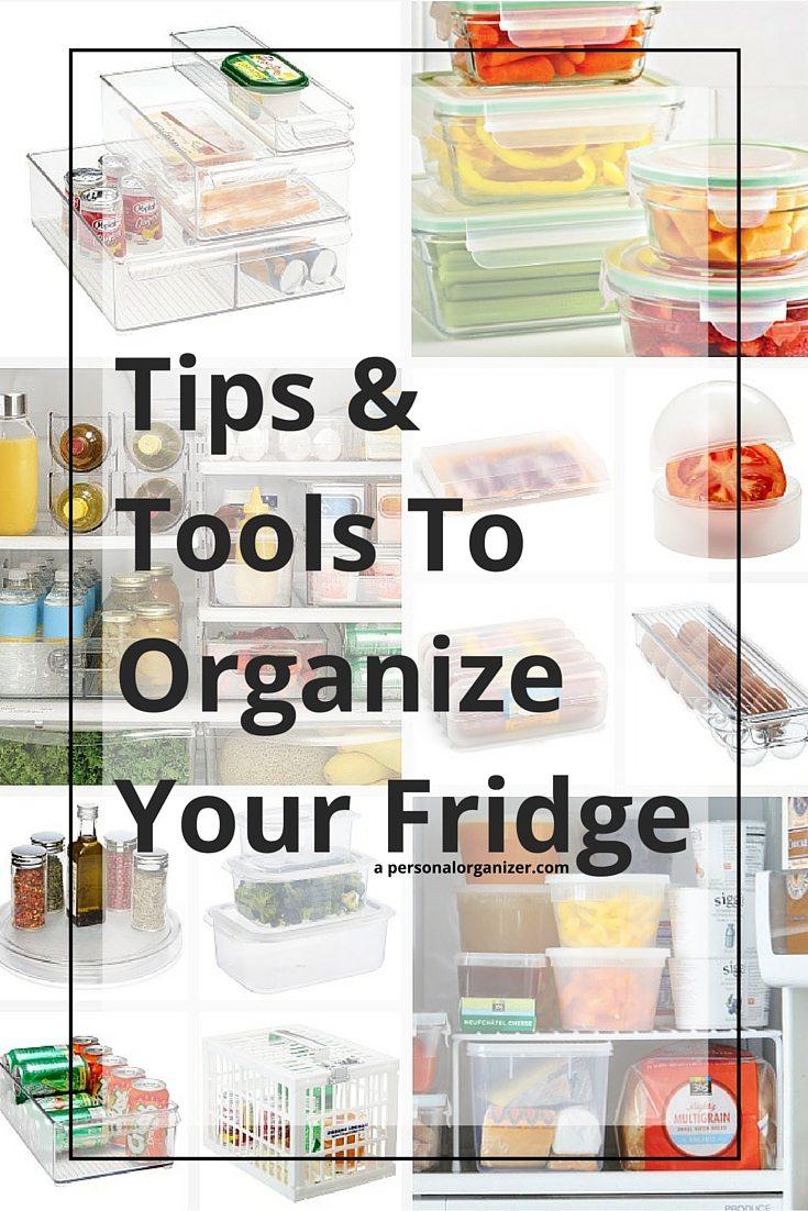 fridge organizing tips