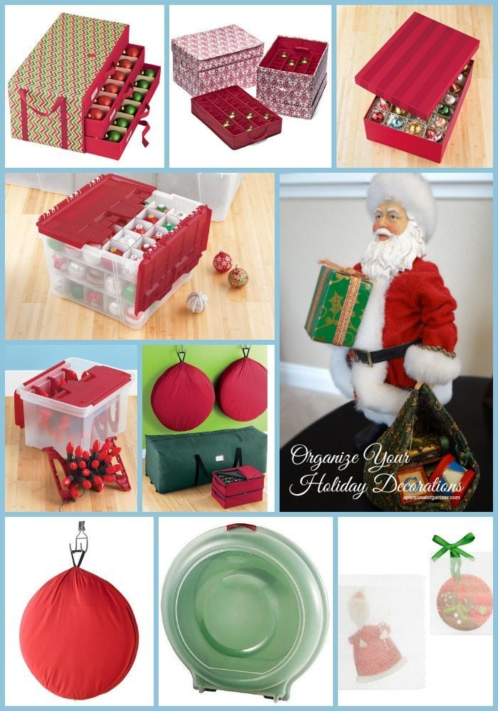 How to organize your holiday ornaments so they last for years to come!