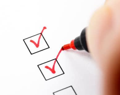college application checklist