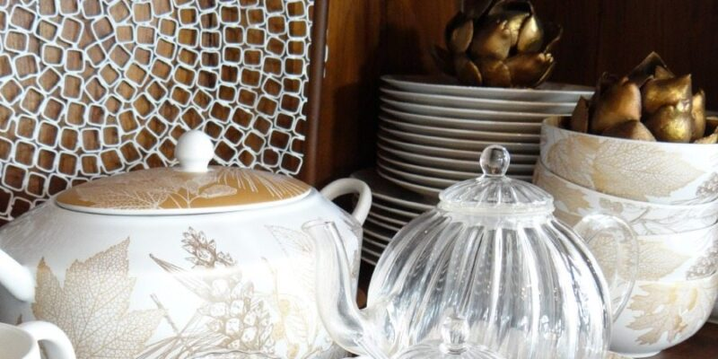 Tips to organize your china cabinet and arrange your china in the most beautiful ways.