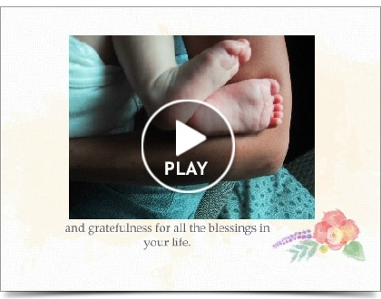 Cute baby and mother video - A Personal Organizer