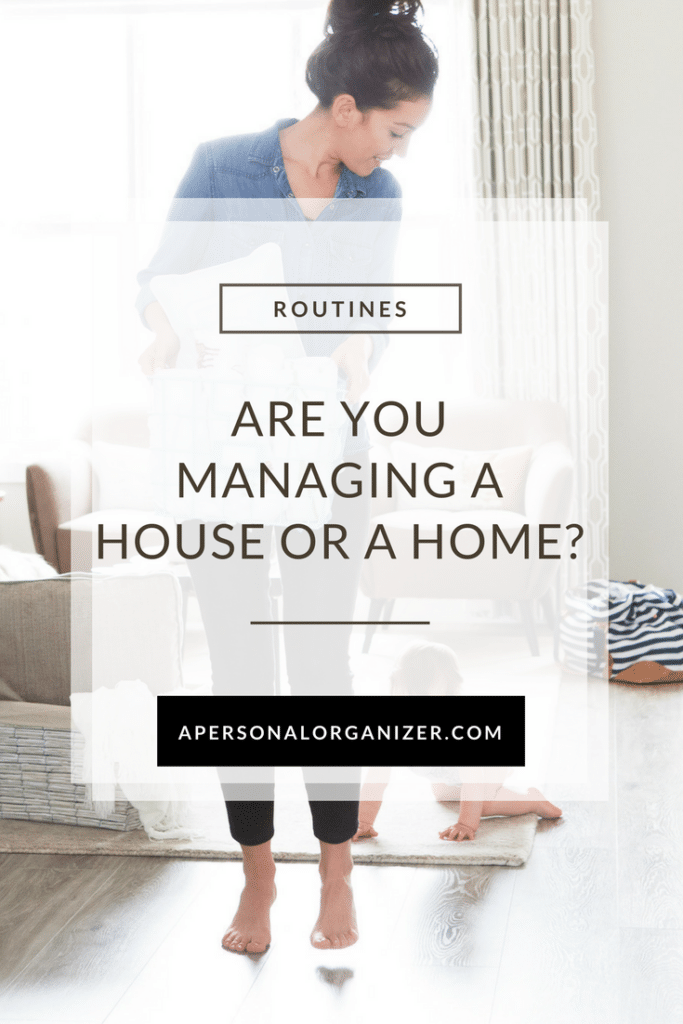 Are you managing a house or a home? There's a big difference between managing a house and caring for a family. You can get started right here.