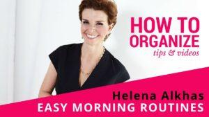 Simple Tweaks For Easy Mornings!