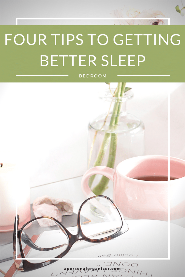 Organizing your bedroom to getting better sleep