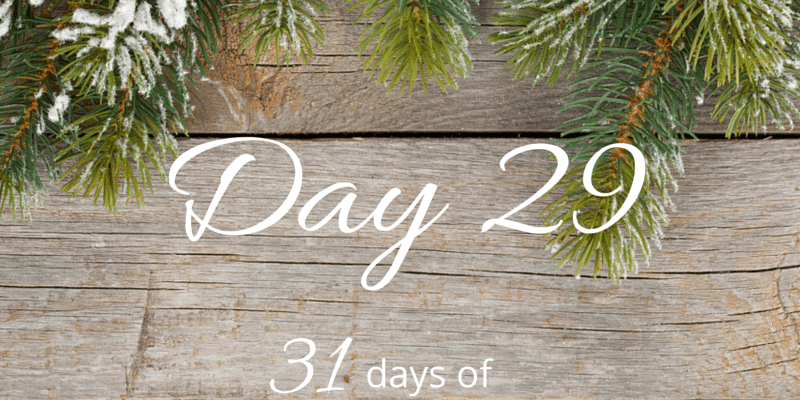 31 Days of Holiday Organizing Tips day 29