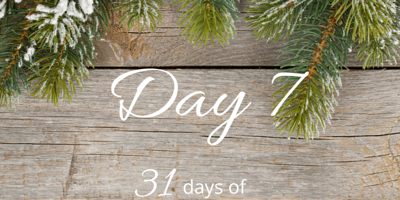 31 days of holiday organizing tips