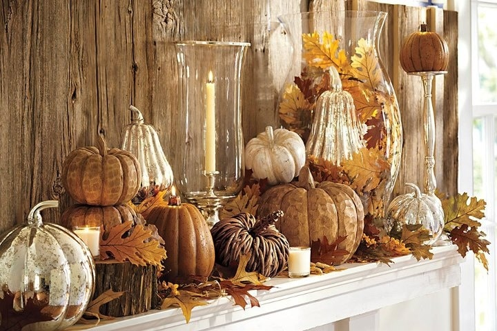 A collection of Fall mantel ideas to get you inspired and create one that fits your home and style.