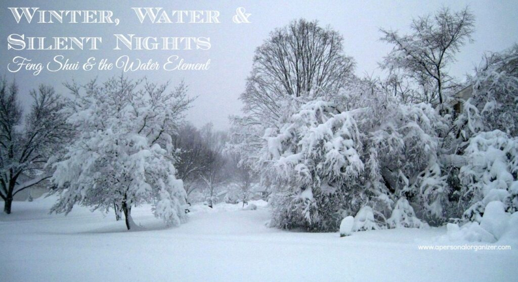 Winter & Silent Nights - Feng Shui & the metal element. Prepare yourself for a wonderful winter with Feng Shui practitioner Gwynne Warner's tips and advice.
