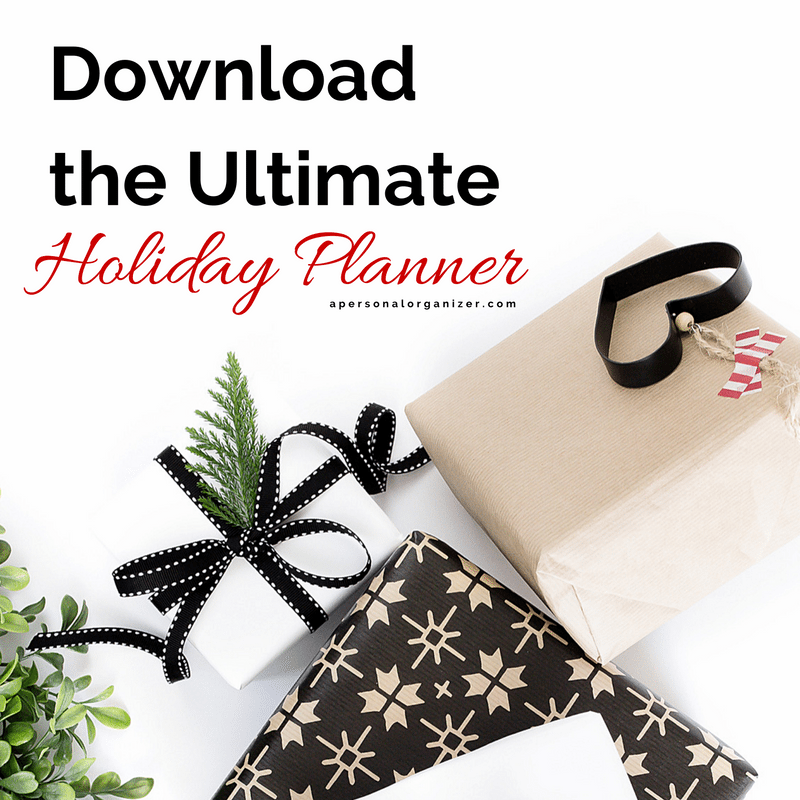 The ultimate holiday planner