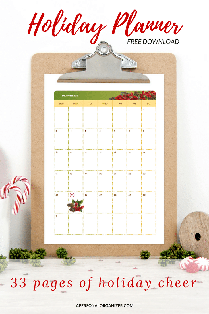 The holidays are a wonderful season that most of us look forward to. But, it can also be overwhelming with so many things to get done in so little time. Download the Holiday Season & Christmas planner and eliminate the overwhelm.