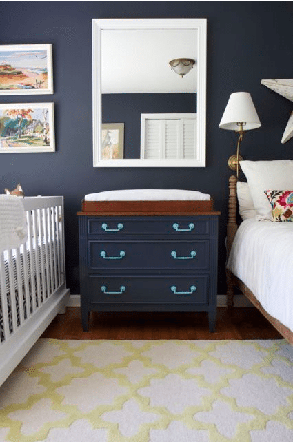 Organizing the nursery to bring home baby