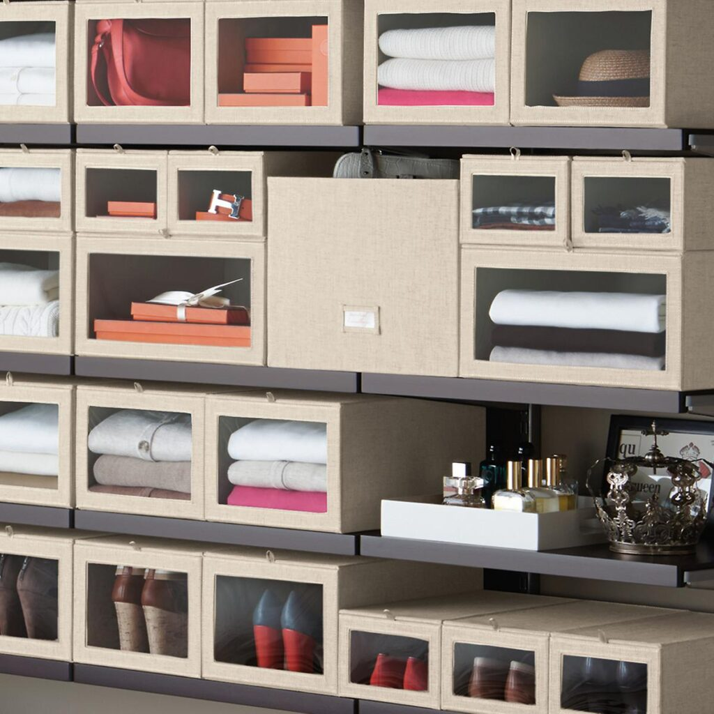 Storage solutions for bedrooms without a closet