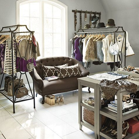 Storage Ideas For Bedrooms Without A Closet Save. Boutique Style