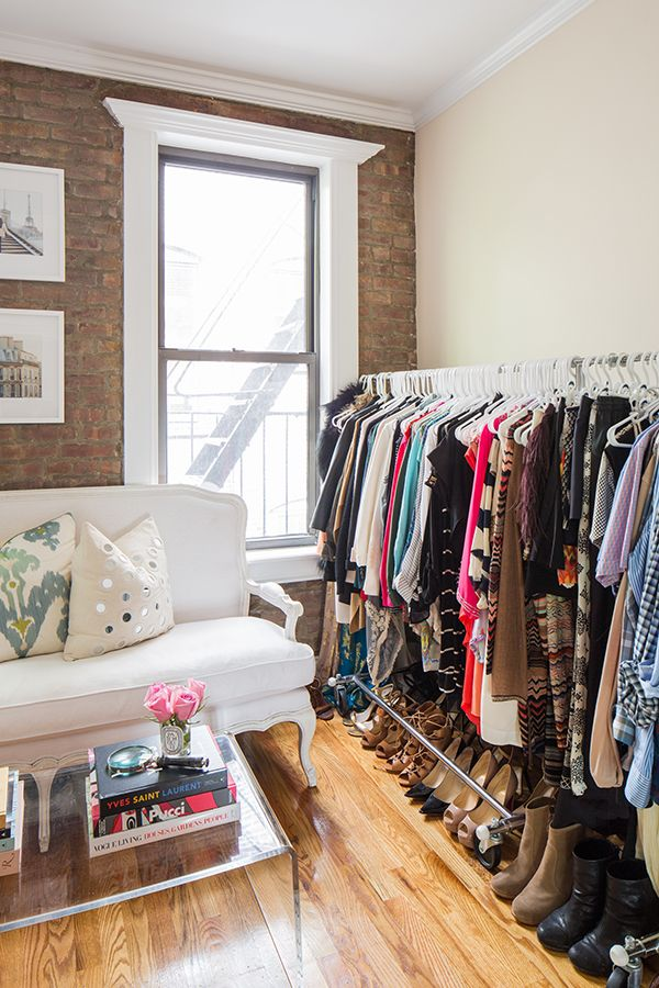 The No Closet Organizing Ideas Spare Bedroom Or Corner