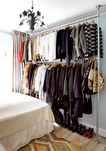 Ikea Has A Beautiful Closet Organizing System That Can Also Serve As Room Divider No