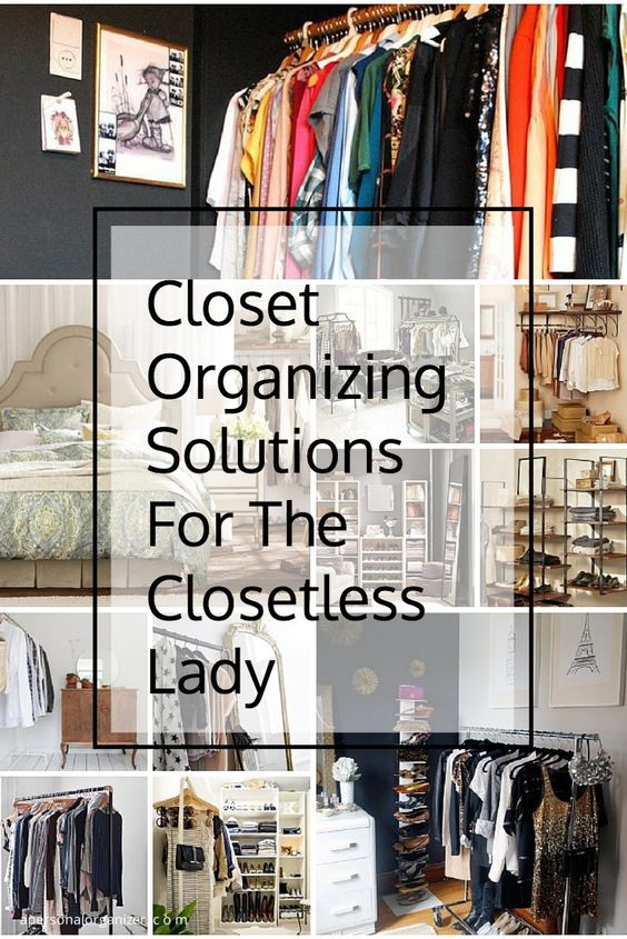Closet organizing ideas the no closet solution How to organize your clothes without a closet