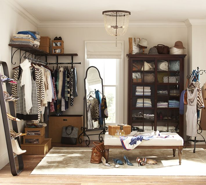Closet organizing ideas the no closet solution - Room with no closet ...