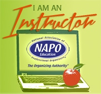 NAPO Instructor - Online training How to become a professional organizer - Curso Online Personal Organizer