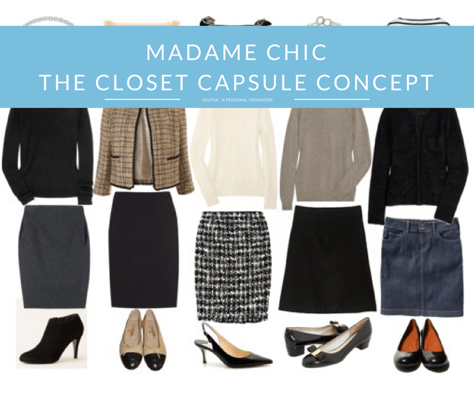 Madame Chic and the closet capsule concept