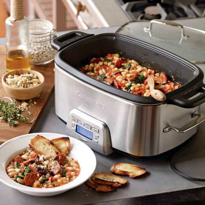 Organizing tips for busy moms. Williams Sonoma Cuisinart-multi-cooker