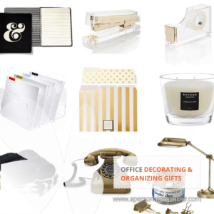 Office organizing gift ideas.