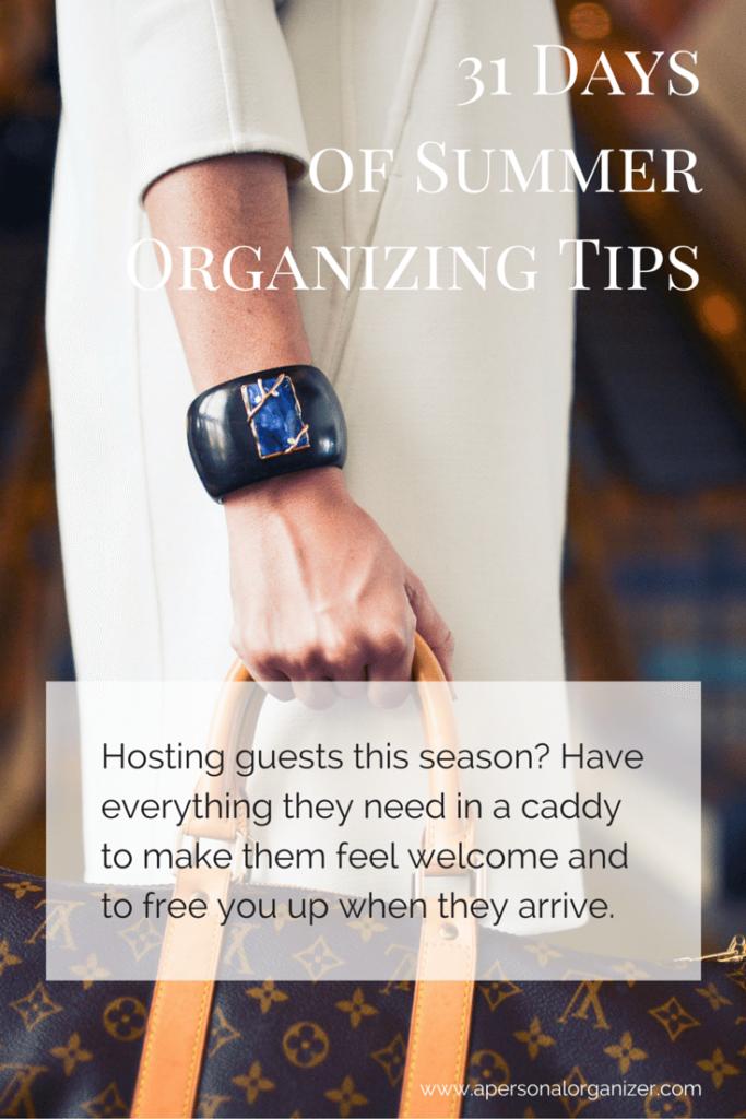 hosting guests