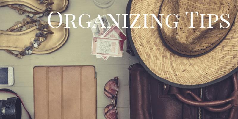 summer organizing ideas series