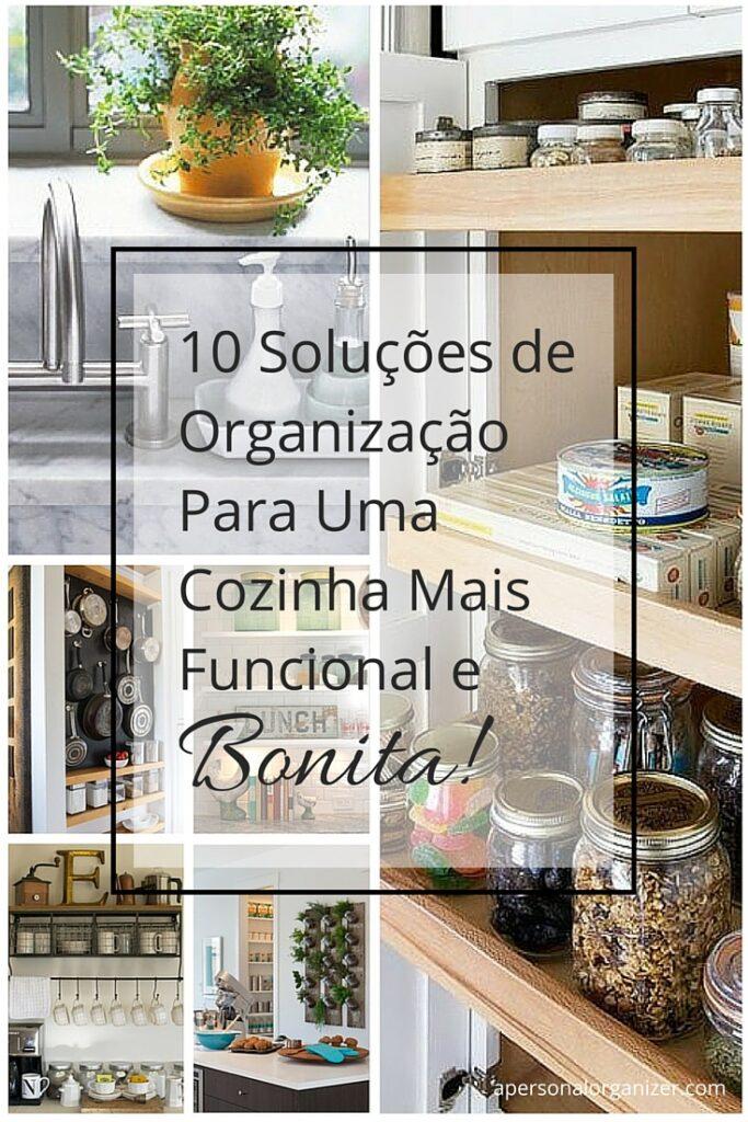 dicas de organização para cozinha
