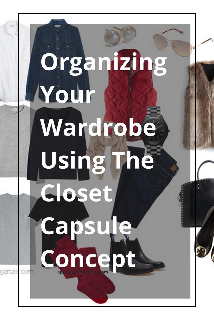 closet capsule minimalism