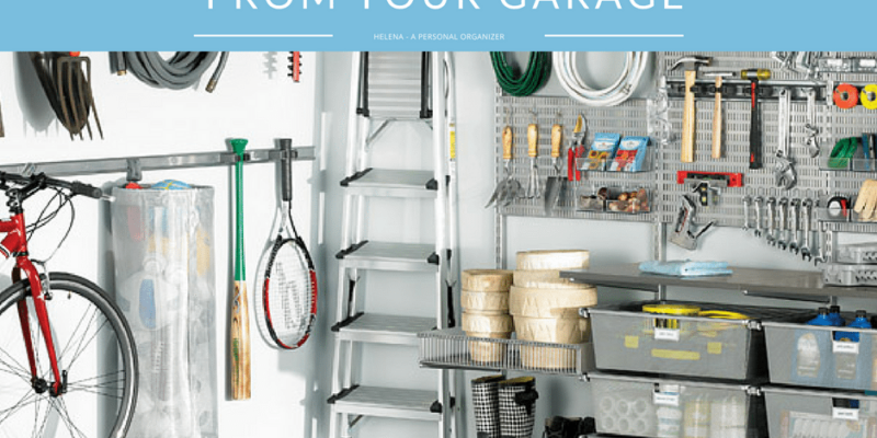 How to clear the clutter from your garage one pile at a time