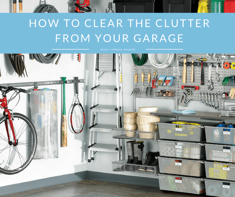Garage Organization Tips Professional Organizer San Diego