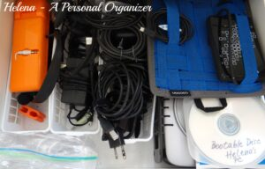 Cords Organizing before - Cords Organizing Helena Alkhas A Personal Organizer