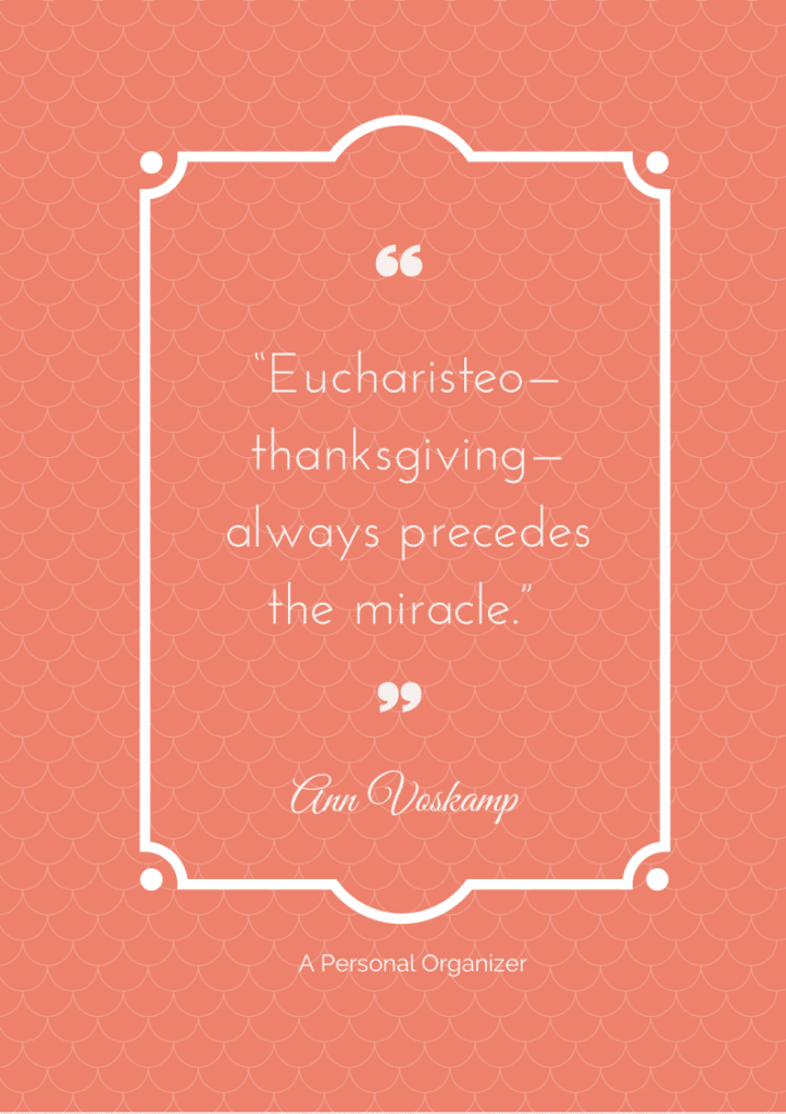 Eucharisteo - Kissing feet - Being Grateful - 10 beautiful printable quotes reminding us to be grateful