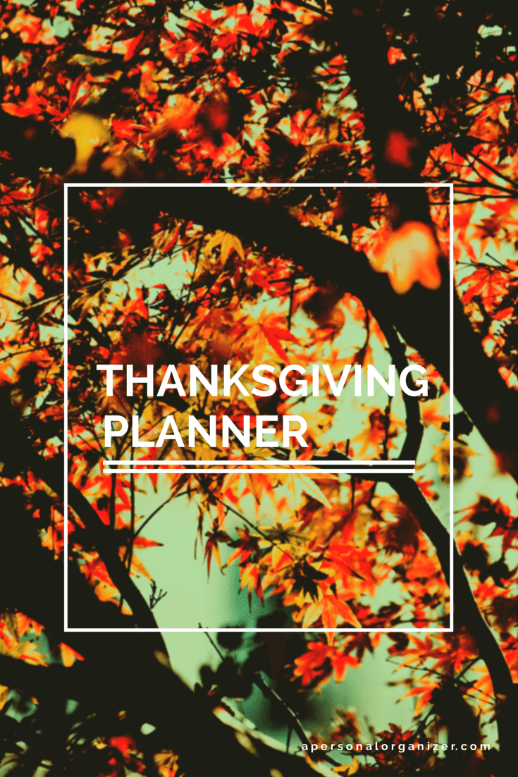 The Ultimate Thanksgiving Planner