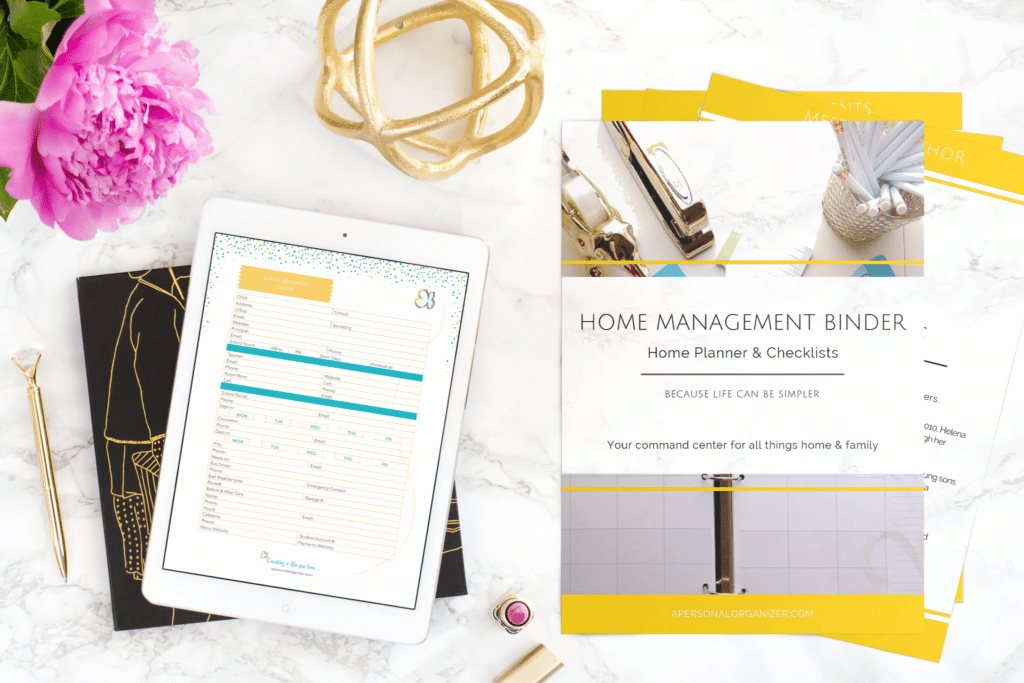 The Home Management Binder + 2018 Family Planner